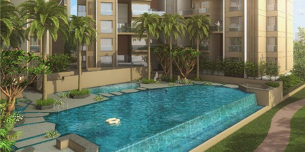 Courtyard One Amenities - swimming pool