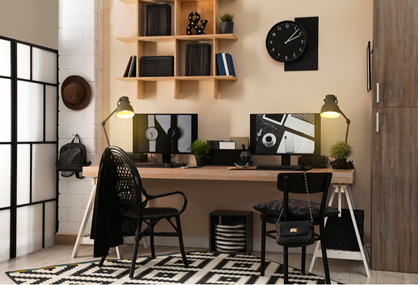 Create A Brainstorming Space - Perfect home office setup