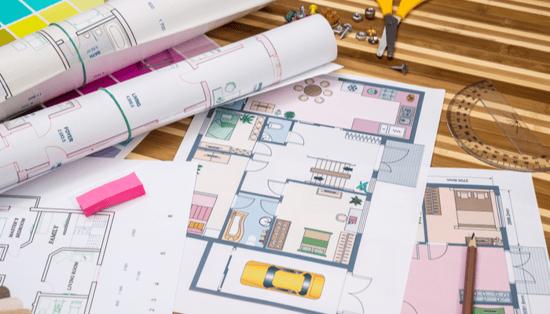 carpet area, built-up area, and super built-up area