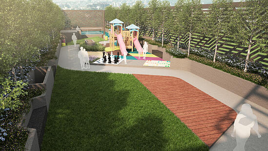Children Playground at Kohinoor Emerald
