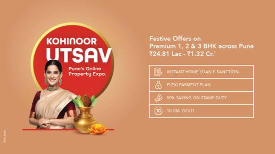 Kohinoor Utsav - Online Property Expo Pune