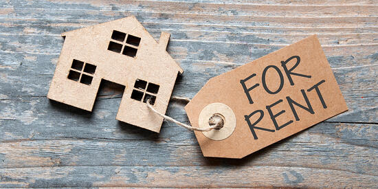 Rent your house and live on rent
