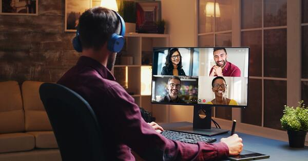 Enable Video Conferencing - Perfect home office setup