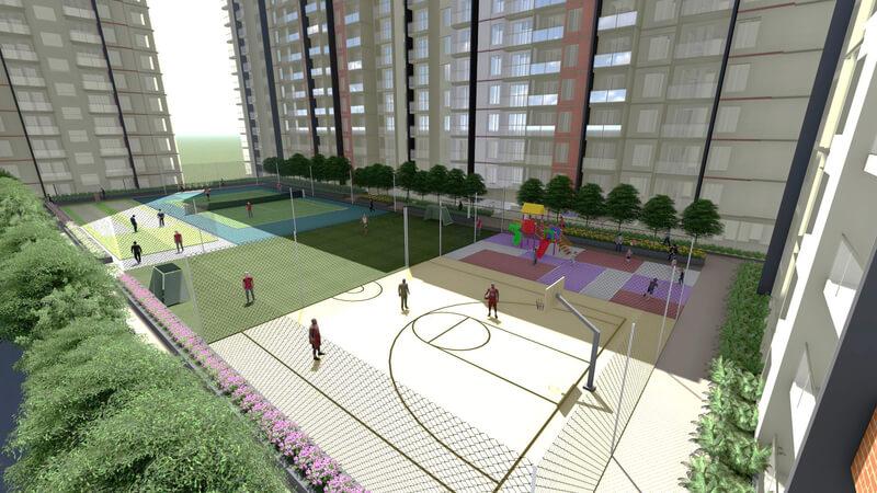 Sports Amenities at Kohinoor SportsVille